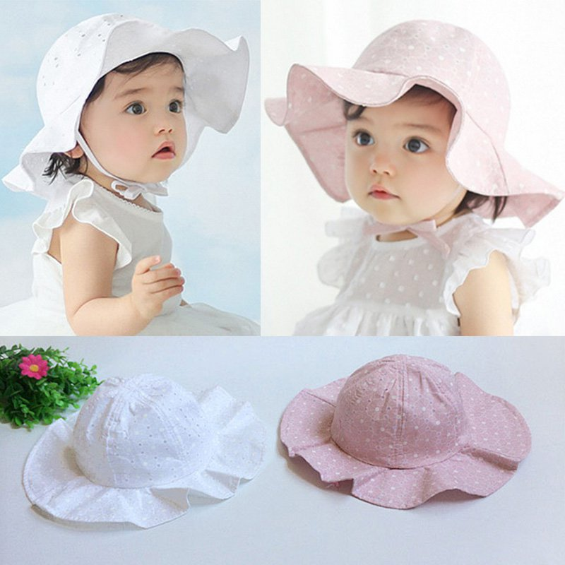 Details about US Toddler Baby Kids Girl Outdoor Sun Hat Brim Summer Bucket  Hats Beach Headwear 6b20714b1b49