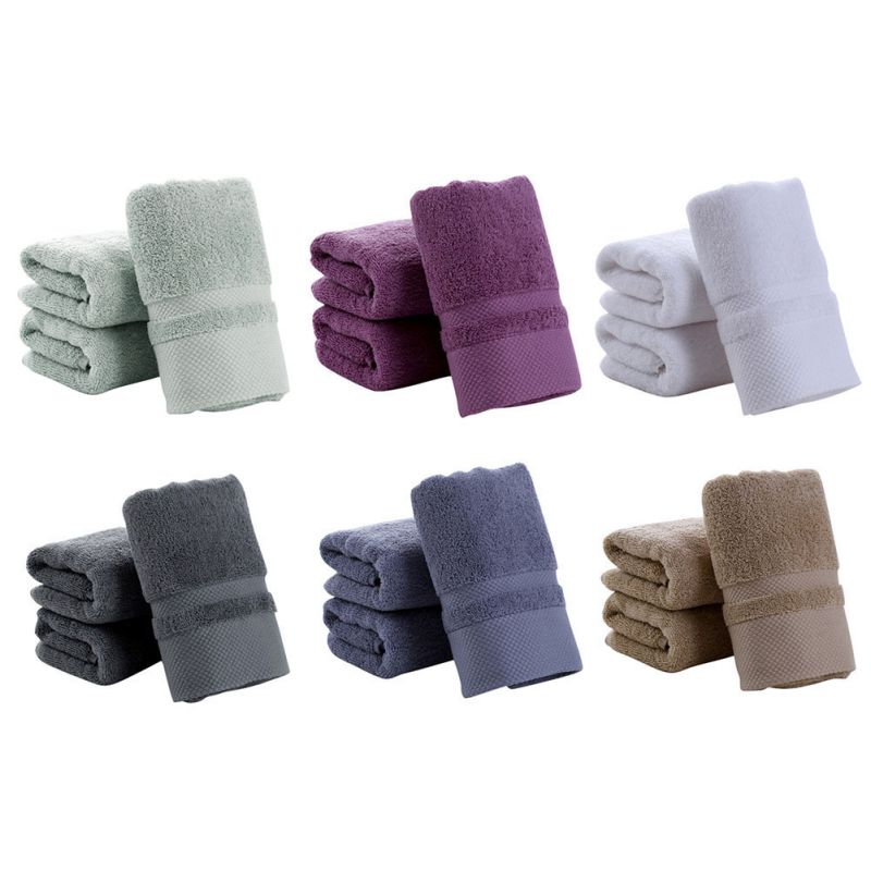 US Soft 100% Cotton Towels Luxury Towel Hand Bath Thick Towe
